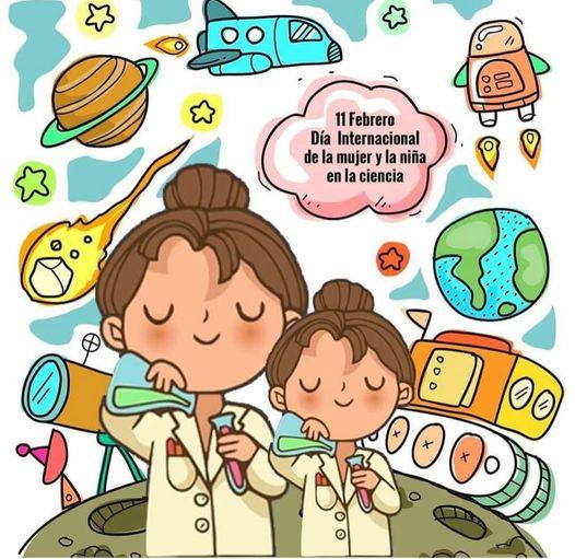 Dia internacional de la mujer y la niña en la ciencia.